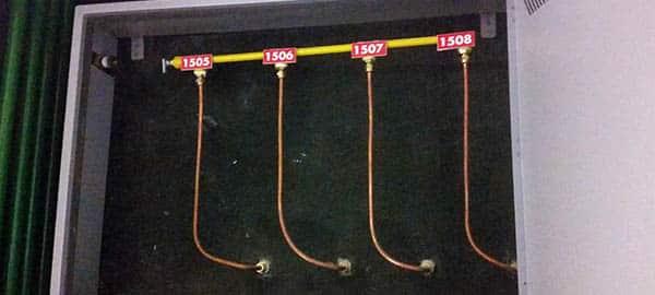 tubulação de gas residencial