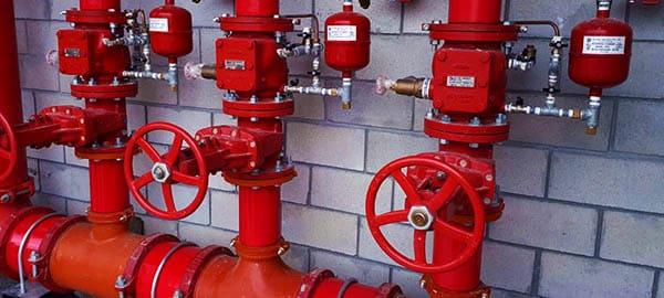 instalação hidrantes de